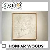 Rustikaler natürlicher festes Holz-Abbildung-Foto-Rahmen für Dekoration