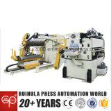 Voeder van de Gelijkrichter van Nc van de Machine van de automatisering de Servo en Hulp Uncoiler aan het Drukken van de Delen van de Auto van de Schittering van BMW