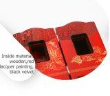 Caixa de presente de exibição de madeira retro de estilo chinês fantástica