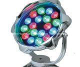 Fußboden-Tiefbaulicht des heißer Verkaufs-niedriges Preis-190*H230mm 18W 12V LED helles einzelnes der Farben-LED