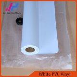 Vinilo brillante del PVC del blanco (80micron 120GSM)