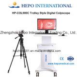 Colposcopy Gynecological certificado Ce do trole da imagem latente do diagnóstico clínico (HP-COL900C)