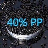 Black Masterbatch PP Granules Virgin Jzc Plastic