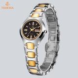 Horloge 71322 van de Mannen en van de Vrouwen van de Minnaars van het Horloge van het Staal van het Wolfram van de Diamant Horloges van de bedrijfs van het Paar Waterdicht Modieus