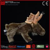 ASTM vulde de Dierlijke Elanden van het Stuk speelgoed van de Pluche van het Speelgoed van Amerikaanse elanden Zachte voor Jonge geitjes/Kinderen
