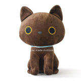 De mooie Gevulde Dierlijke Zwarte Kat van het Stuk speelgoed