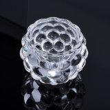 Держатель для свечи кристаллический стекла формы чашки для украшения