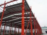 Hoher Standard-vorfabriziertes Stahlgebäude-Lager u. Werkstatt
