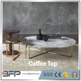 De populaire Europese Witte Marmeren Koffietafels van de Stijl voor Zaal Dinnig