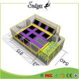 セリウムは適性のための自由なデザイン六角形のトランポリンを証明した
