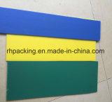 Scheda ondulata PP scanalatura dello strato del polipropilene impermeabile con i vari colori 1200*2400mm 1000*2000mm