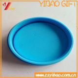 Крышка чашки изготовленный на заказ силикона логоса милая для сбывания