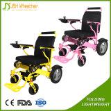 Cadeira de rodas a pilhas psta de pouco peso do motor sem escova de 4 rodas elétrica
