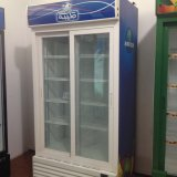 상업적인 강직한 유리제 문 음료 냉각기
