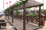 Pérgola al aire libre respetuosa del medio ambiente de WPC