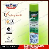 Rimuovere rapidamente lo sgrassatore della superficie del motore della macchia di olio