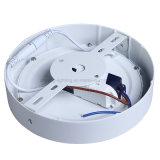 A luz de painel de alumínio fundida AC85-265V do diodo emissor de luz do círculo 6W para casa ilumina a iluminação comercial da lâmpada do teto da iluminação do escritório