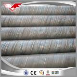 tubulação de aço soldada de 3lpe Fbe 3PE espiral revestida Epoxy