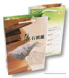 (RPD-200um) o dobro de papel mineral rico de papel de pedra a favor do meio ambiente revestiu