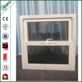 Chinesisches Fabrik-Doppeltes hing UPVC Doppelt-Glassing Auswirkung-Fenster