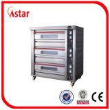 Astar Professional Bakery Oven com 2 Deck 4 Bandeja Powered by Electric