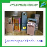 Rectángulo de empaquetado de papel de la botella de vino del rectángulo de regalo del OEM