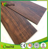 De houten Geweven Commerciële BinnenKleefstof klikt de VinylVloer van pvc Lvt