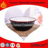 Sunboat 둥근 사기질 사발 Qualityenamel 격판덮개 또는 깊은 격판덮개 또는 사발