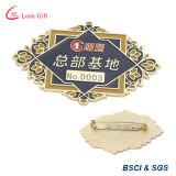 Distintivo di obbligazione di nome della Factory Custom Company