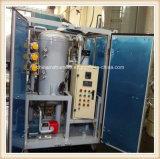 máquina de la purificación de petróleo del alto vacío de 1800L/H 75kv para el petróleo usado del transformador, purificador de petróleo tamaño pequeño del transformador