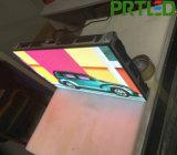 높은 정의 새로운 디자인 내각 600*337.5mm를 가진 실내 P1.56 풀 컬러 LED 스크린