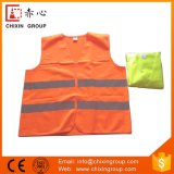 Chalecos reflexivos de seguridad amarillo y naranja (CC-V01)