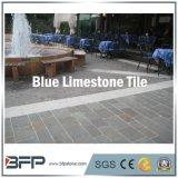 De populaire Gevlamde Blauwe Tegels van Foor van het Kalksteen voor Tuin/Binnenplaats