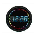 Orologio di tempo elettronico di circonduzione decorativo della parete del LED Digital