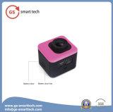 Cámara impermeable del deporte de WiFi de la cámara de la acción ultra HD 4k de Fisheye de la corrección
