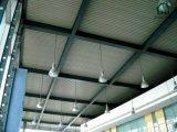 De Bouwconstructie van het staal Voor de Tijdelijke Bureaus van de Fabriek