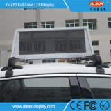 Outdoor Full Color Taxi Top LED Display Panel para Publicidade