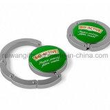 Metallfonds-Aufhängung, Metallbeutel-Aufhängung, Handtaschen-Aufhängung mit Abdeckung-Aufkleber-Firmenzeichen