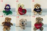 Het Zachte Stuk speelgoed van de Pluche van Doll van de Gift van Kerstmis van de Teddybeer van de pluche voor PromotieGift