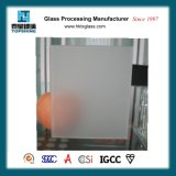 O ácido geado gravou as portas de vidro e as portas de vidro do reparo do indicador para o banheiro