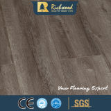 Plancher en bois en stratifié stratifié par noix de chêne blanc de la planche 8.3mm E1 HDF de vinyle