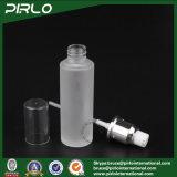 bottiglia della lozione di vetro glassato di 20ml 30ml 50ml con la pompa della lozione per l'imballaggio cosmetico della lozione di cura personale di trucco