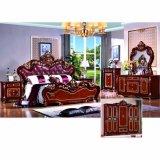 Schlafzimmer-Möbel eingestellt mit klassischem Bett (W812)