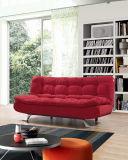 Modelo novo real que dobra projetos ajustados do sofá de madeira da esponja de Charpie