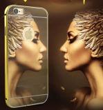 Espejo del metal para el iPhone 6s / 7puls duro de la caja del teléfono accesorios del teléfono celular (6plus XSJS 001)