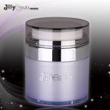 Plastica libera cosmetica bottiglia senz'aria della pompa da 20 ml con la protezione d'argento