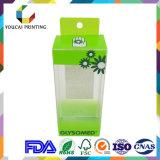 装飾的な製品のパッキングのためのカスタマイズ可能なプラスチック包装ボックス
