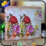 Kundenspezifisches Art-Einklebebuch-Foto-Album-Buch mit Förderung-Geschenk
