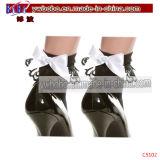Das Bekanntmachen des Geschenks trifft Baumwollfrauen-Socken-Knöchel-Strümpfe hart (C5103)