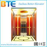 elevador del pasajero del control de 1600kg Mrl Vvvf con la máquina sin engranaje